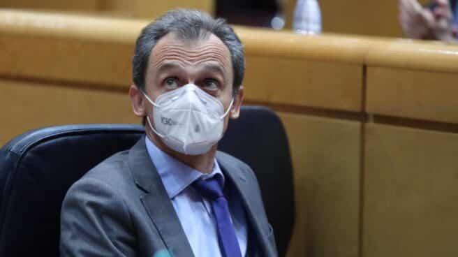 Pedro Duque, en el Senado.