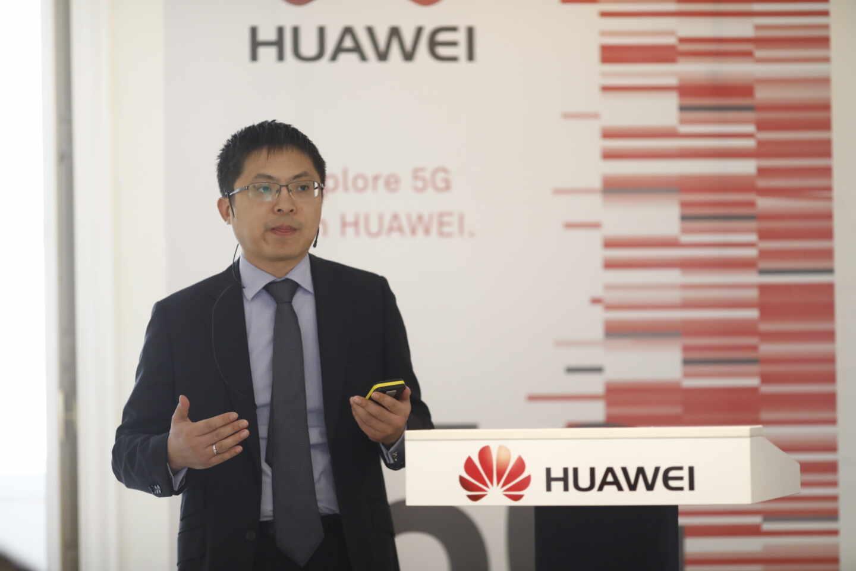 El CEO de Huawei en España, Tony Jin Yong.