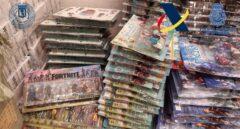 Desmantelado uno de los mayores centros de juguetes y mascarillas ilegales de Madrid