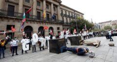 La Audiencia Nacional cita a declarar a 12 jóvenes por simular la decapitación del Rey el 12-O