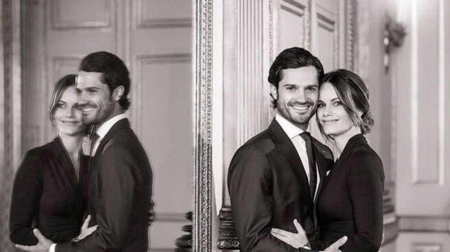 Los príncipes Carlos Felipe y Sofía de Suecia esperan su tercer hijo