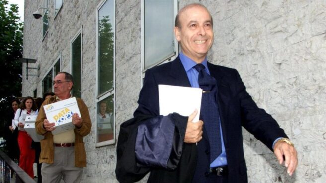 El ex presidente de Cantabria, Juan Hormaechea.