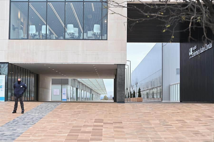 Hospital Isabel Zendal, en Madrid.