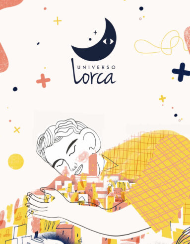 Ilustración del Universo Lorca, del escritor Federico García Lorca.