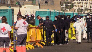 Cruz Roja investiga la fiesta montada con inmigrantes en un hotel de Canarias