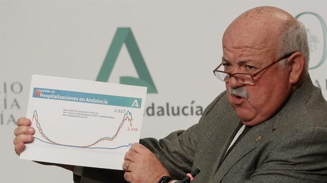El consejero de Salud de la Junta de Andalucía, Jesús Aguirre.