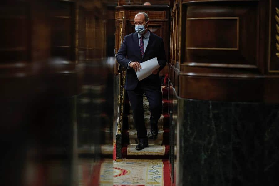 El ministro de Justicia, Juan Carlos Campo.