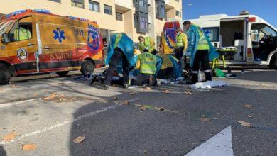 Herido de gravedad tras ser atropellado en un paso de peatones en Vallecas