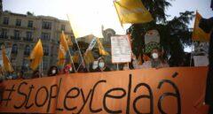 Manifestaciones contra la Ley Celaá de Educación.