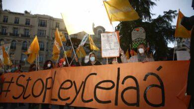 La escuela concertada anuncia más movilizaciones contra la 'Ley Celaá' del Gobierno
