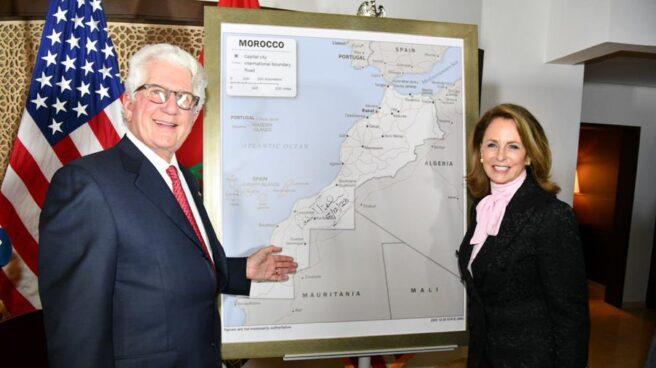 Estados Unidos presenta su nuevo mapa de Marruecos, incluyendo al Sahara Occidental.