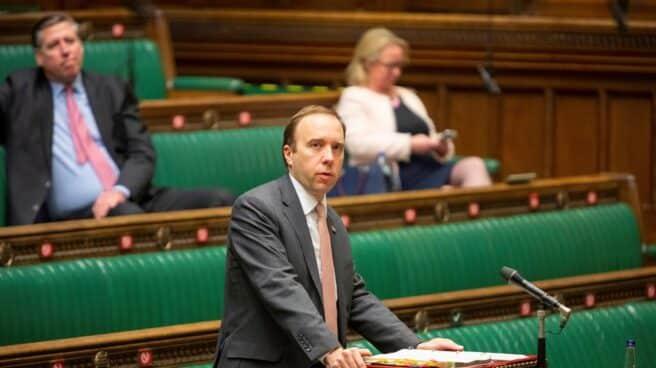 El ministro de Salud británico, Matt Hancock.