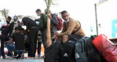 Diez provincias acogen ya a  migrantes que llegaron a Canarias en pateras