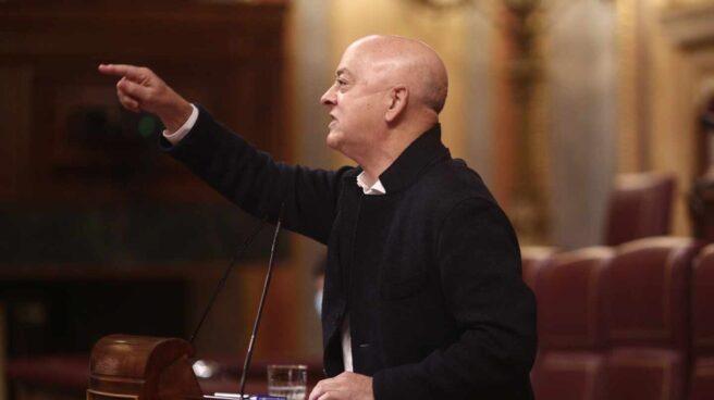 Odón Elorza, en el Congreso de los Diputados.