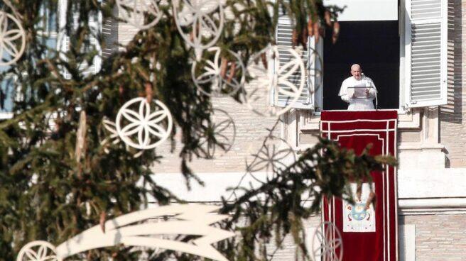 El Papa Francisco, durante el Angelus.
