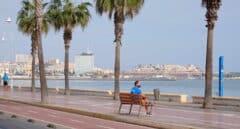 Paseo marítimo de Melilla.
