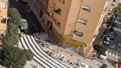 El paso de peatones de Alicante que arrasa en las redes sociales