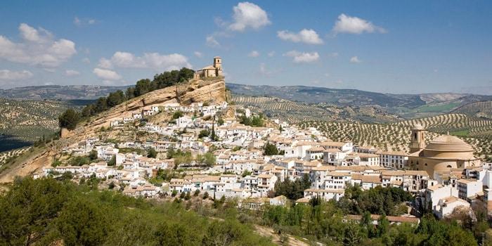 Montefrío, uno de los pueblos más bonitos del mundo según la National Geographic, un pueblo ubicado en Granada.