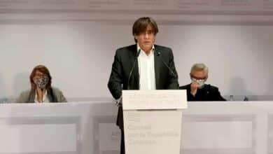 """Puigdemont reclama un """"desbordamiento democrático"""" para hacer efectivo el 1-O"""
