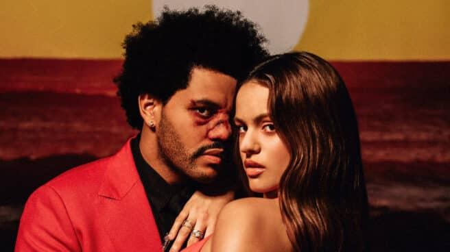 Rosalía y The Weeknd lanzan un remix de 'Blinding lights'.
