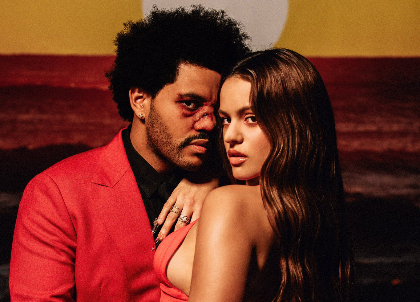 Rosalía y The Weeknd lanzan un remix de 'Blinding lights'.