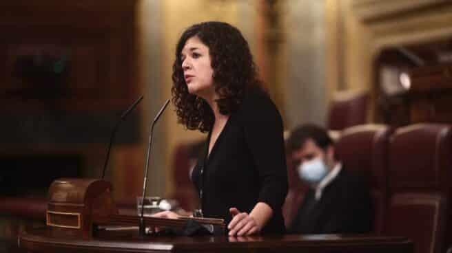 La diputada de Podemos, Sofía Castañón.