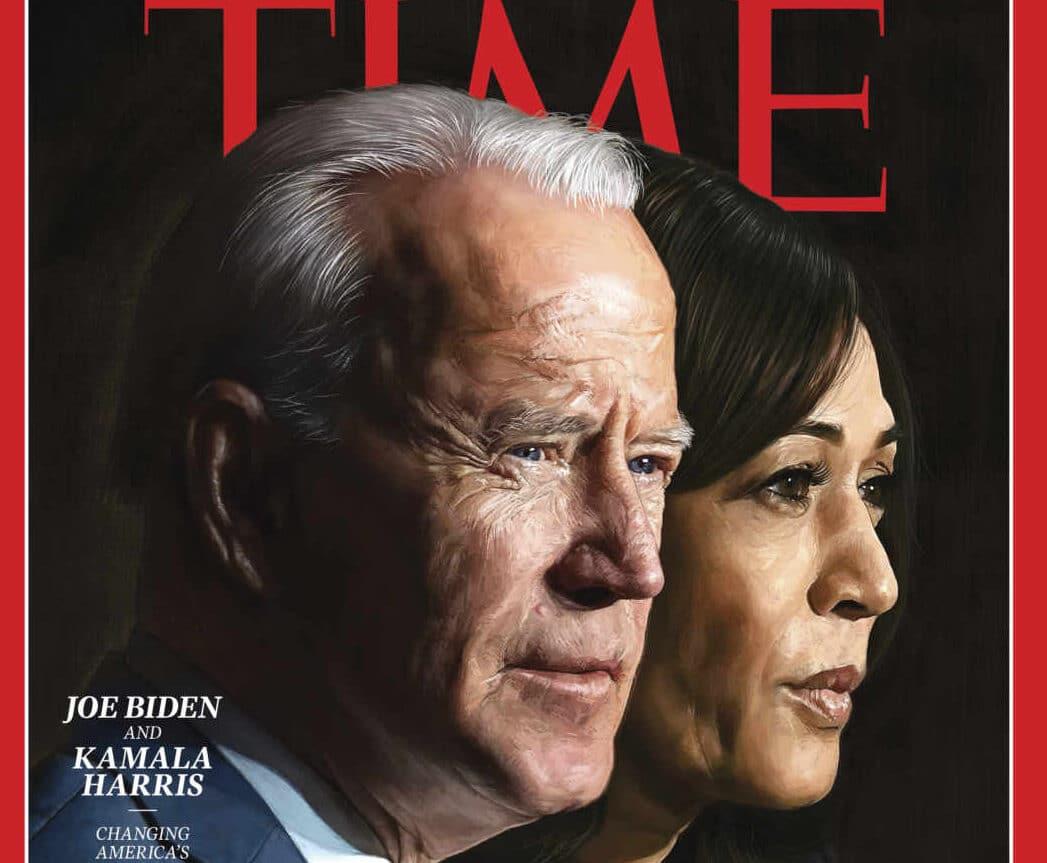 Portada de diciembre de la revista Time.