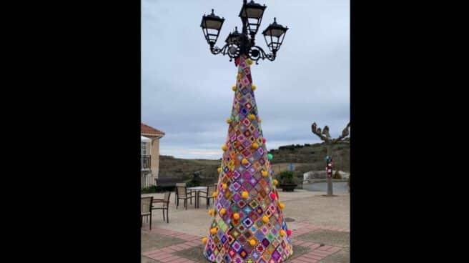Árbol de Navidad en Villa de Ocón.