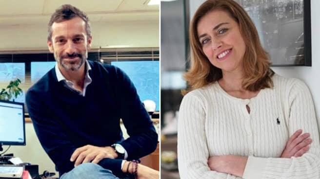 Álvaro Zancajo y Carmen Torres.