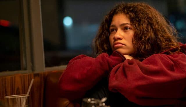 Zendaya es Rue en la exitosa serie de HBO.