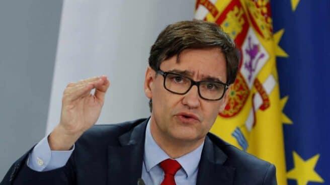 Salvador Illa, tras su último Consejo de Ministros.