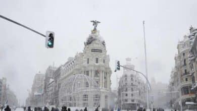 Filomena: 30 fotografías de una nevada que pasará a la historia en Madrid