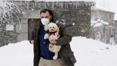 España se tiñe de blanco: nevadas y bajas temperaturas en el primer fin de semana del año