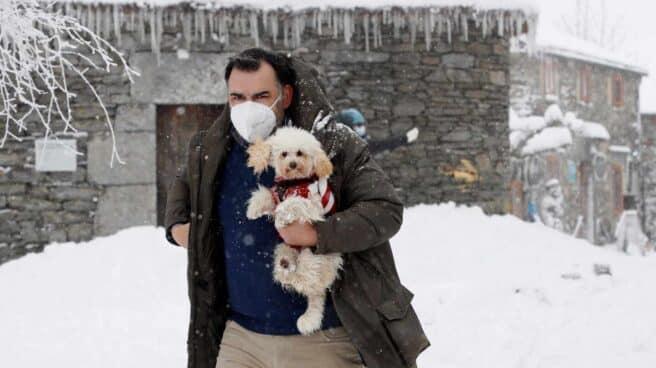 Nieve en Galicia.