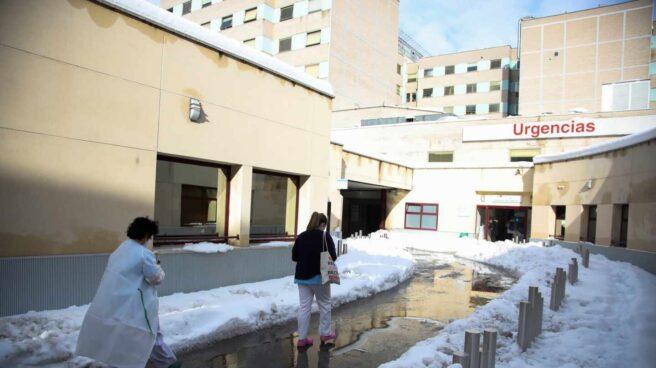Urgencias del hospital Gregorio Marañón de Madrid.