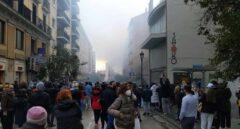 La  explosión de la calle Toledo en Madrid, en imágenes