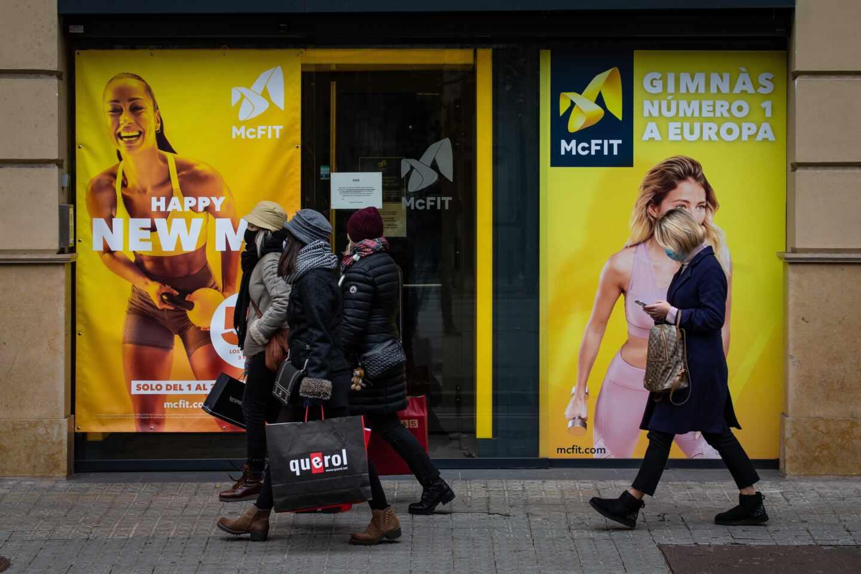 Gimnasios cerrados en Cataluña en aplicación normativa anti Covid-19 de la Generalitat