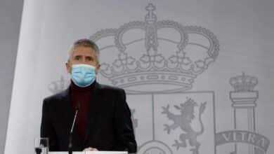 """Marlaska pide """"no entrar en polémicas estériles"""" con Madrid y dice que todavía no se pueden valorar los daños"""