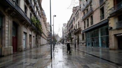 Dos personas sin hogar mueren en Barcelona durante la ola de frío