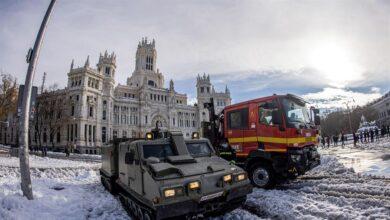 Madrid estudia retrasar al jueves la apertura de los colegios por el temporal