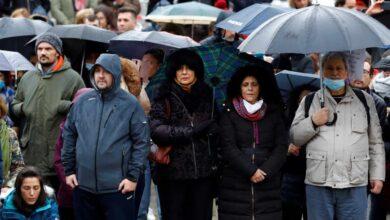 La Policía multa a 216 participantes en la manifestación negacionista de Madrid