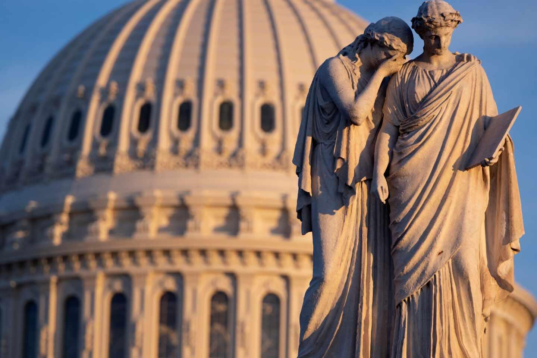 Imagen del Capitolio, en Washington, Estados Unidos.