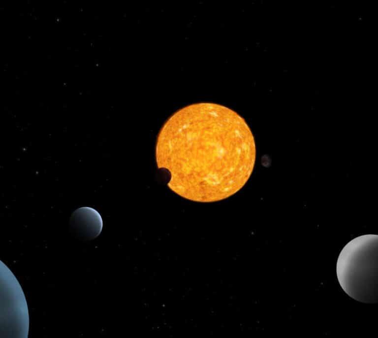 CHEOPS, el primer satélite español 'caza exoplanetas', revela un sistema planetario único
