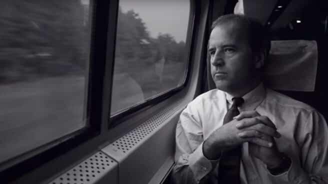 Joe Biden-viaje-tren