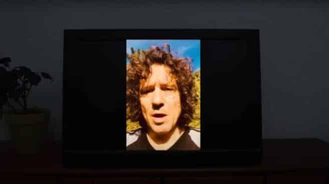 Bunbury, en el vídeo difundido por el colectivo.