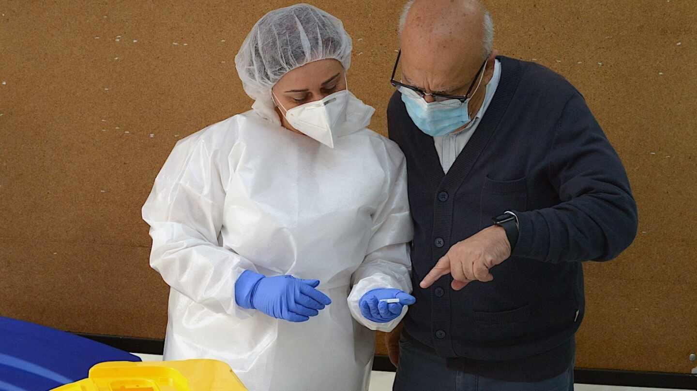 El consejero de Sanidad del Gobierno de Ceuta, Javier Guerrero.