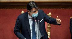 Conte se tambalea tras una apurada votación a su confianza en el Senado