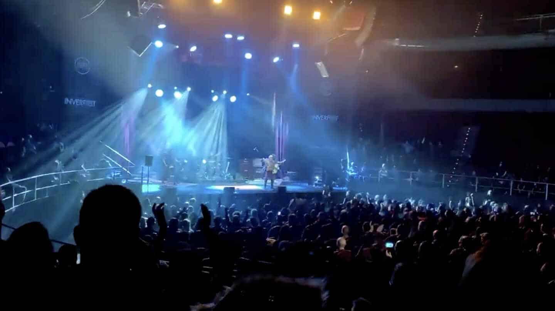 Imagen del concierto ofrecido el viernes por El Drogas en el Teatro Circo Price