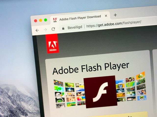 Adobe Flash Player.