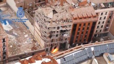 A vista de dron: así ha quedado la calle Toledo tras la explosión